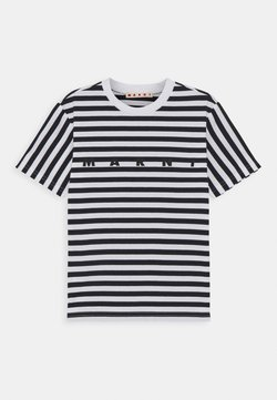 Marni - MAGLIETTA UNISEX - T-Shirt print - blue navy