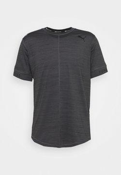 Puma - CLOUDSPUN  - T-Shirt basic - dark gray heather