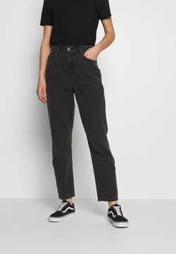 American Eagle - CURVY MOM - Jeans Relaxed Fit - rocker black