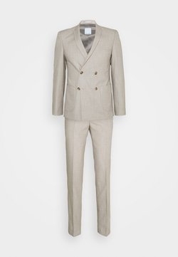 Viggo - KAARE DOUBLE BREASTED SUIT - Costume - tan