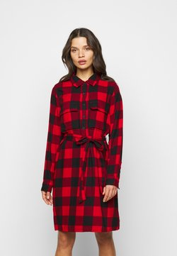 GAP Petite - UTILITY DRESS - Korte jurk - red