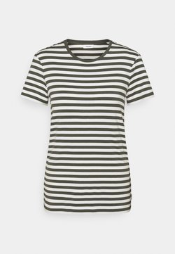 Marc O'Polo DENIM - SHORT SLEEVE STRIPE - T-Shirt print - deep depth