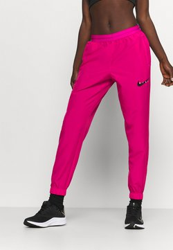 Nike Performance - RUN PANT - Jogginghose - fireberry/arctic punch/black
