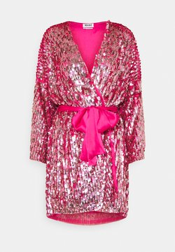 MANÉ - XENIA WRAP DRESS - Cocktailkleid/festliches Kleid - rose