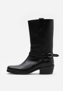 Polo Ralph Lauren - HARNESS BOOT CASUAL - Cowboy-/Bikerboot - black