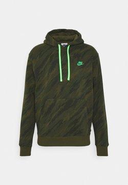 Nike Sportswear - HOODIE - Collegepaita - rough green/green strike
