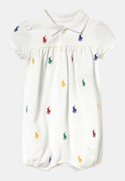 Polo Ralph Lauren - BUBBLE ONE PIECE SHORTALL - Combinaison - white