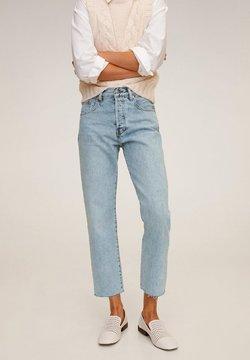 Mango - HAVANA - Straight leg jeans - bleu clair