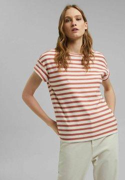 Esprit - COO STRIPE - T-Shirt print - blush