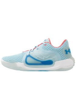 Under Armour - SPAWN 2 - Basketbalschoenen - blue frost/white/bombay blue