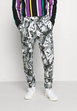 Chi Modu - PAC PATTERN - Jogginghose - black grey / print photo pattern