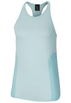 Nike Performance - AEROADAPT TANK - Funktionsshirt - teal tint/metallic silver