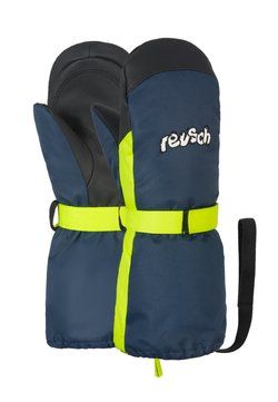 Reusch - Fäustling - dress blue/safety yellow
