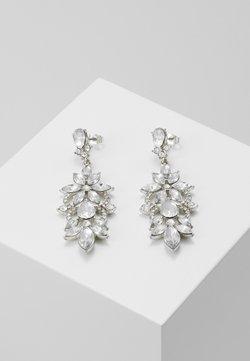 Pieces - PCFLO EARRINGS - Örhänge - silver-coloured