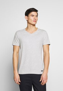 Pier One - T-shirt basic - mottled light grey