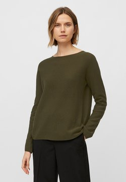Marc O'Polo - SOLID, STRUCT - Sweatshirt - native olive