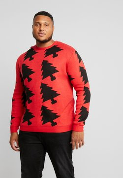 Jack´s Sportswear - XMAX TREES - Pullover - red