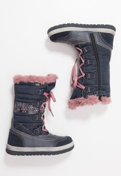 Lurchi - ALPY-TEX - Snowboot/Winterstiefel - navy/rose