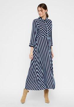 YAS - Blusenkleid - navy blazer