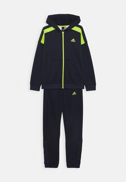 adidas Performance - TECH SET - Survêtement - dark blue