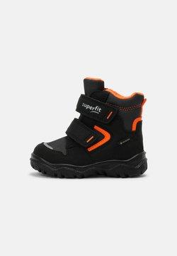 Superfit - HUSKY - Lauflernschuh - schwarz/orange