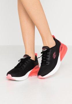 Skechers Sport - SKECH-AIR STRATUS - Slipper - black/hot pink