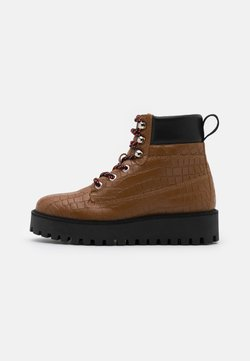 LÄST - ALASKA - Snowboot/Winterstiefel - brown