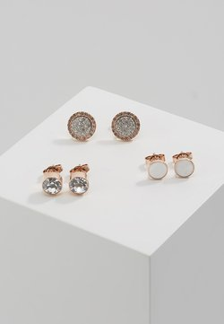 Emporio Armani - 3PACK - Earrings - silber/rosegold-coloured