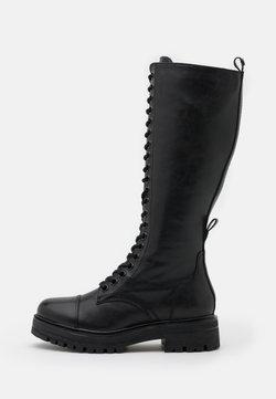 Tamaris - BOOTS - Schnürstiefel - black