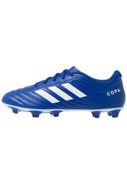 adidas Performance - COPA 20.4 FOOTBALL BOOTS FIRM GROUND - Voetbalschoenen met kunststof noppen - royal blue/footwear white