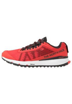 The North Face - M ULTRA SWIFT - Zapatillas de trail running - fiery red/black