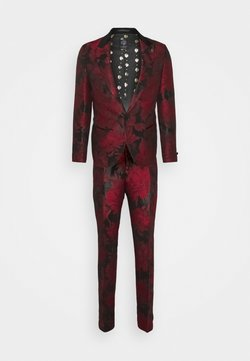 Twisted Tailor - LORRIS SUIT - Costume - black/red