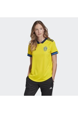 adidas Performance - SWEDEN SVFF HOME JERSEY - Nationalmannschaft - yellow