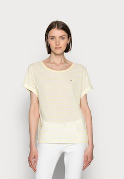 Tommy Hilfiger - RELAXED - T-Shirt print - yellow