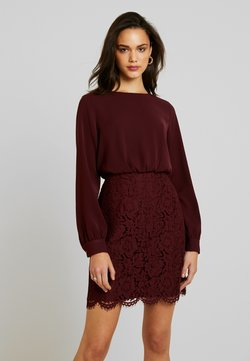 Vero Moda - VMELLIE SHORT DRESS - Cocktailkleid/festliches Kleid - port royale