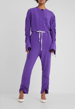 By Malene Birger - ANULA - Stoffhose - tillandsia purple