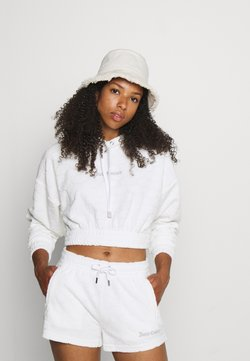 Juicy Couture - TOWEL SUKI - Shorts - white
