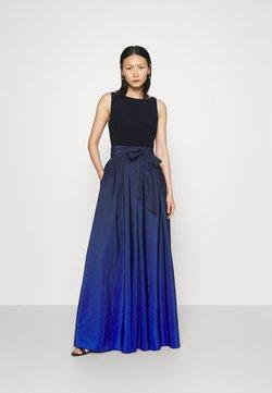 Lauren Ralph Lauren - AGNI SLEEVELESS EVENING DRESS - Jerseykleid - sapphire star