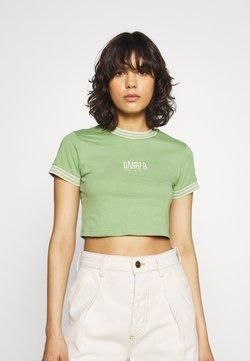 The Ragged Priest - PRIME TEE - T-Shirt print - green/beige