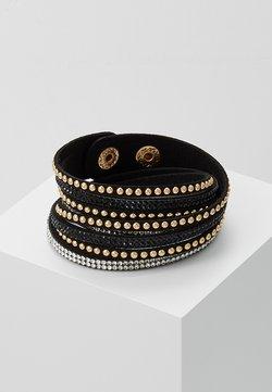 sweet deluxe - WANDA - Bracelet - black/gold-coloured