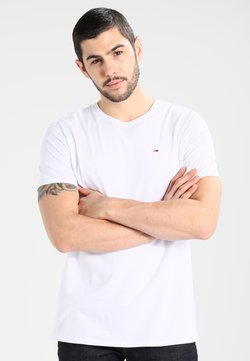 Tommy Jeans - ORIGINAL TEE REGULAR FIT - T-shirt basique - classic white