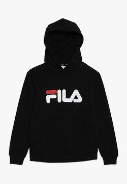 Fila - CLASSIC LOGO HOODY - Luvtröja - black