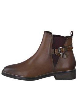 Marco Tozzi - Ankle Boot - cognac ant.com 372