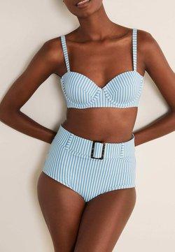 Boden - KYTHIRA - Bikini-Hose - blassblau, gestreift