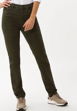 BRAX - STYLE MARY - Broek - dark olive