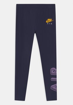 Nike Sportswear - AIR FAVORITES - Legging - obsidian/violet star