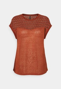 ONLY - ONLNEW MIX - T-shirt con stampa - arabian spice