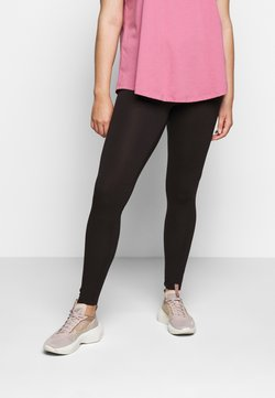 Zizzi - LONG - Leggings - Trousers - black