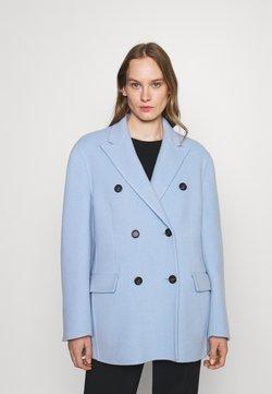 N°21 - GIACCA TESSUTO - Klasyczny płaszcz - cielo