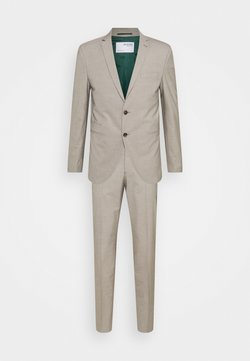 Selected Homme - SLHSLIM MAZELOGAN SAND STRUC SUIT - Anzug - sand